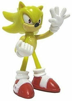 "Sonic the Hedgehog Gacha Tomy Buildable Figures - ~2"" Super"