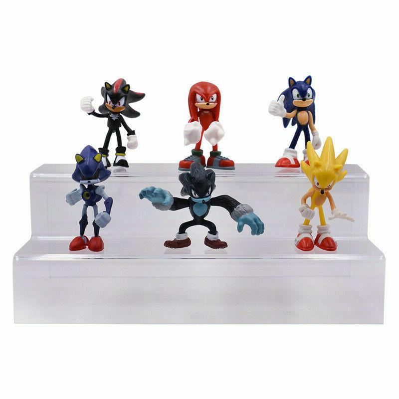 Sonic Shadow 6 PCS figure