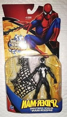 Spider-Man Black Costume with Glider Action Figure Hasbro Cl