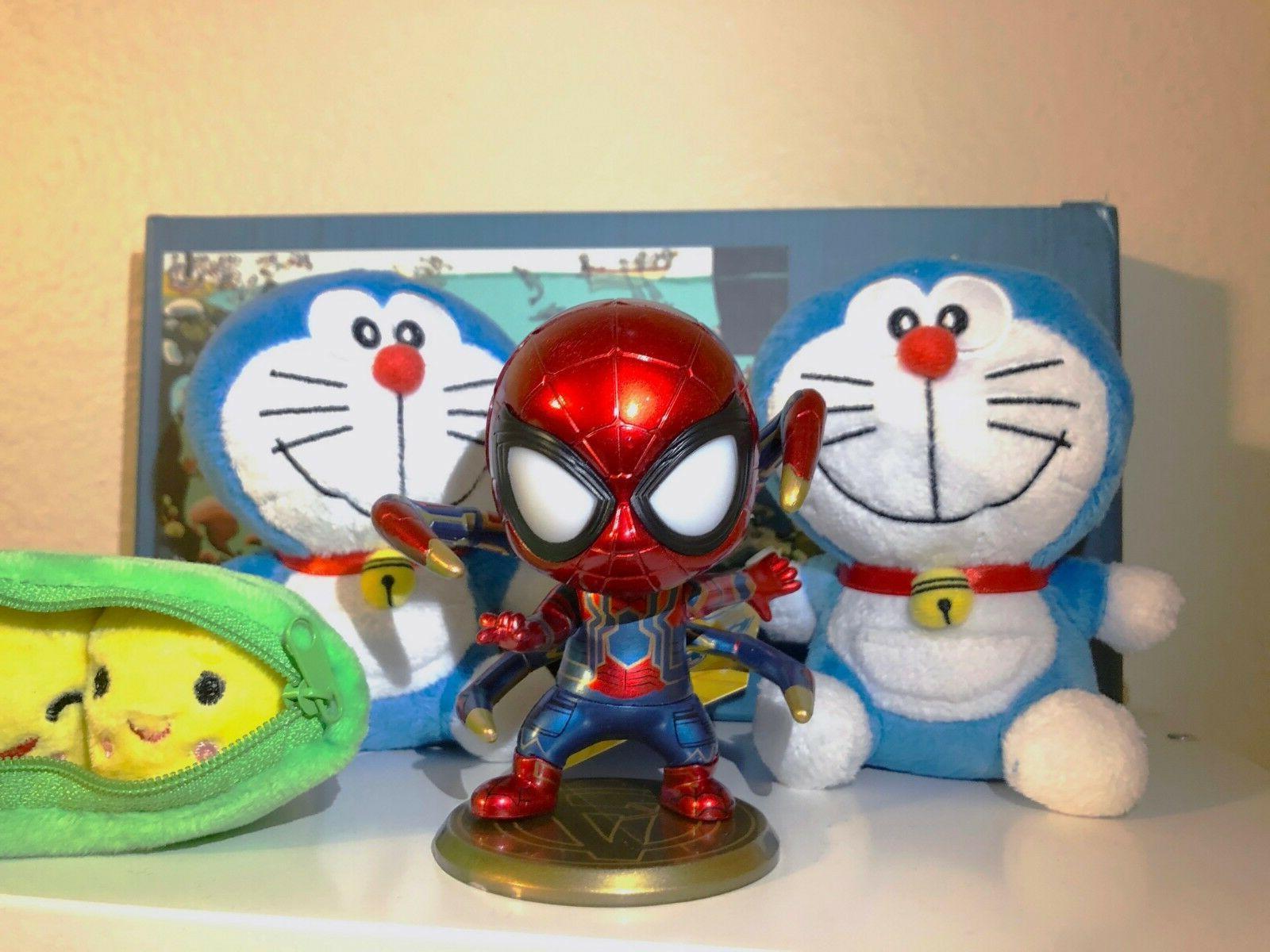 Spider-Man Bobblehead Magnet Sticker Office Decor