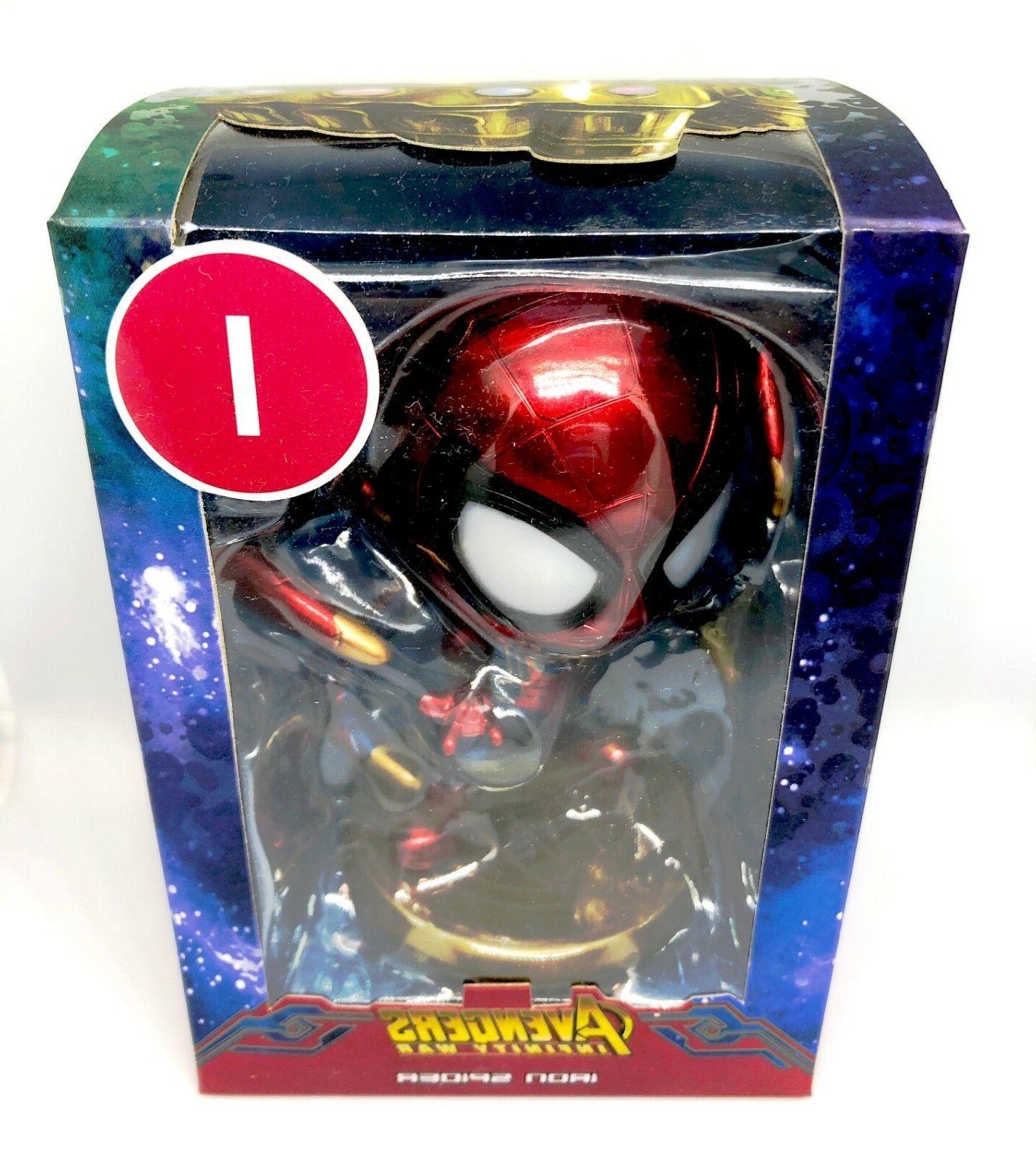Spider-Man Bobblehead Magnet Sticker Decor Toy