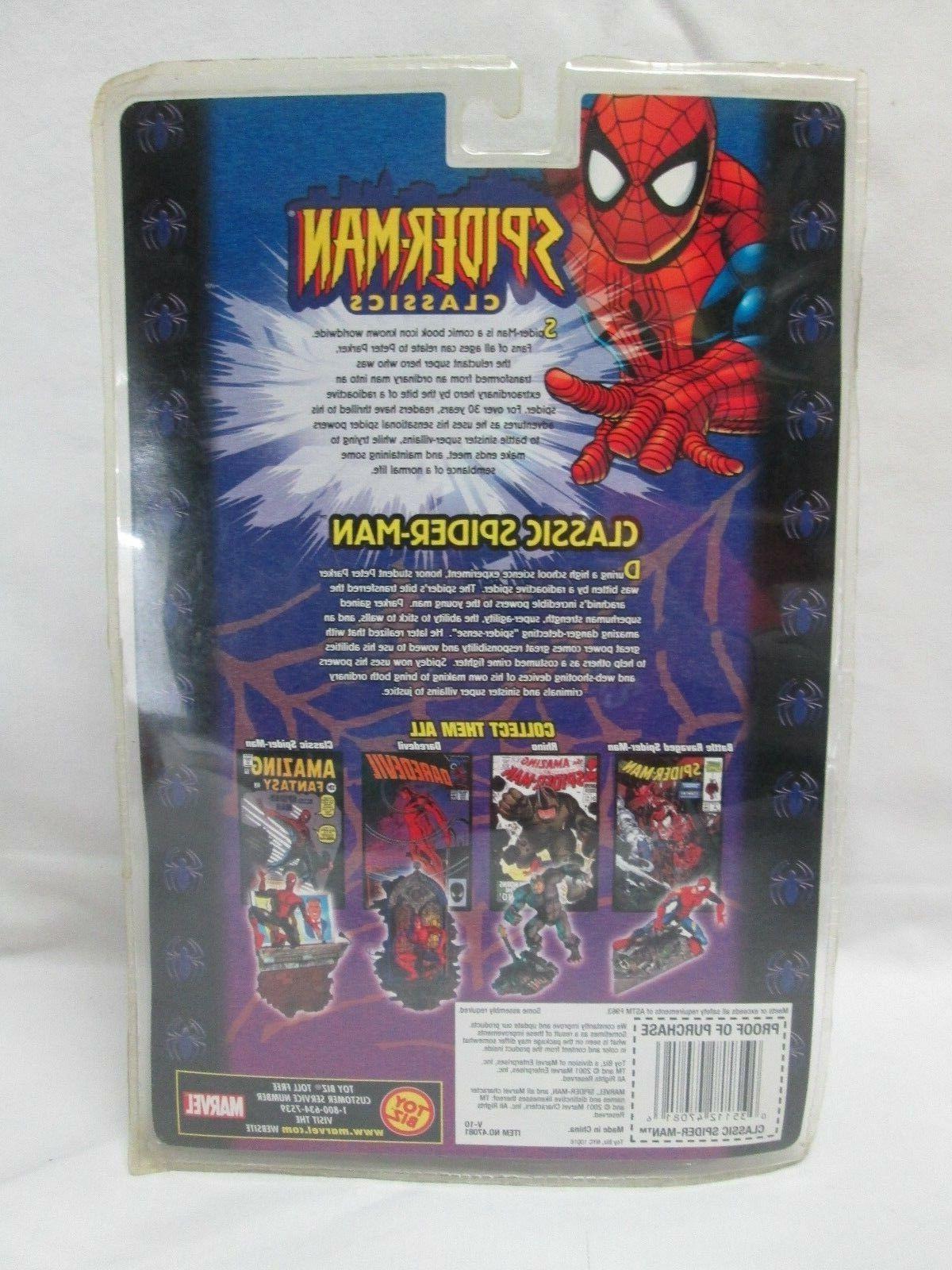 SPIDER MAN Classics Action Figure SERIES II MARVEL