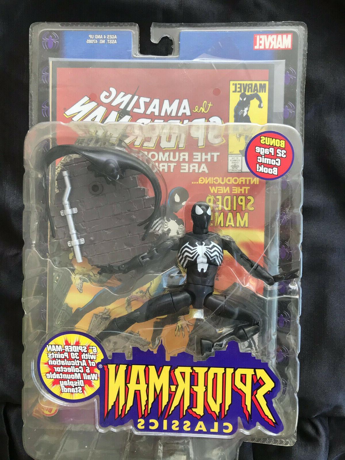 spider man classics black costume spider man