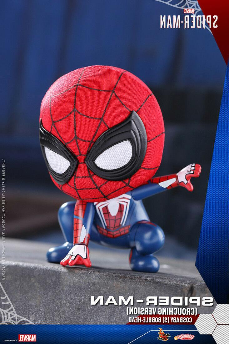 spider man crouching version cosbaby s bobble