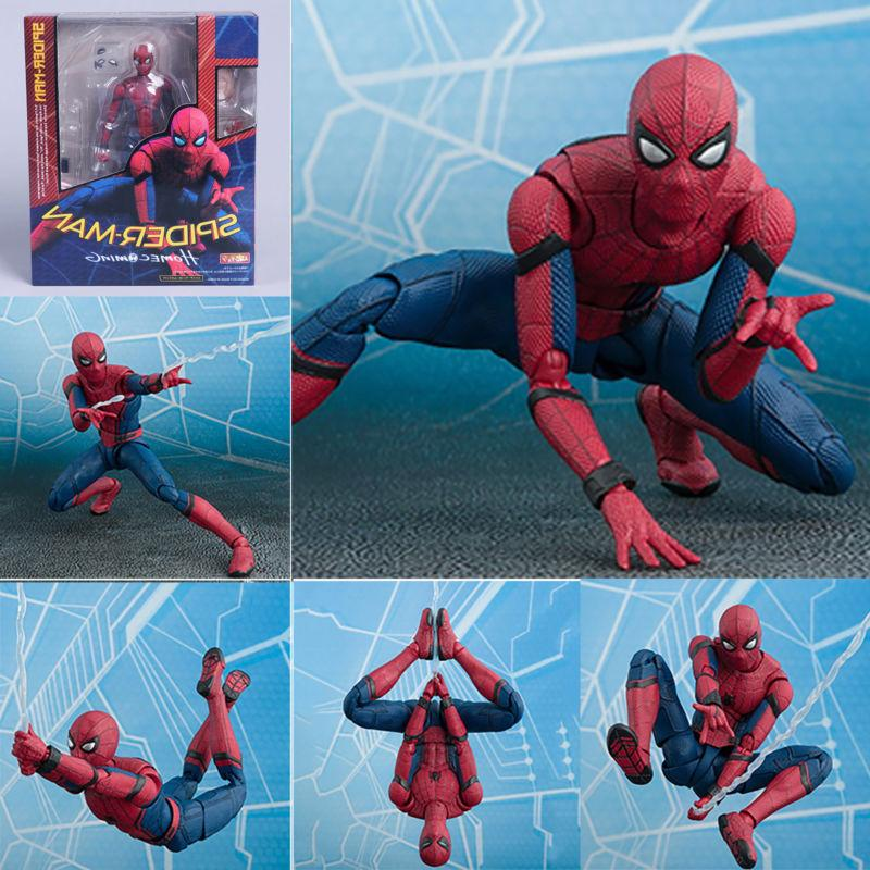 Spider Man Homecoming Spiderman PVC Action Figure Collectibl