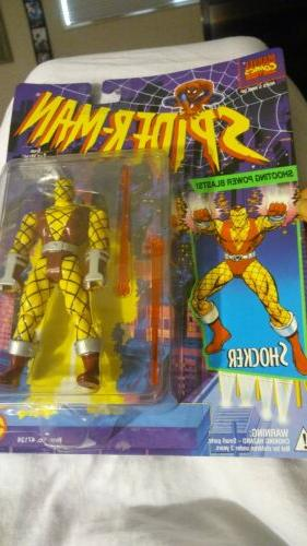 spider man shocker action figure grown up