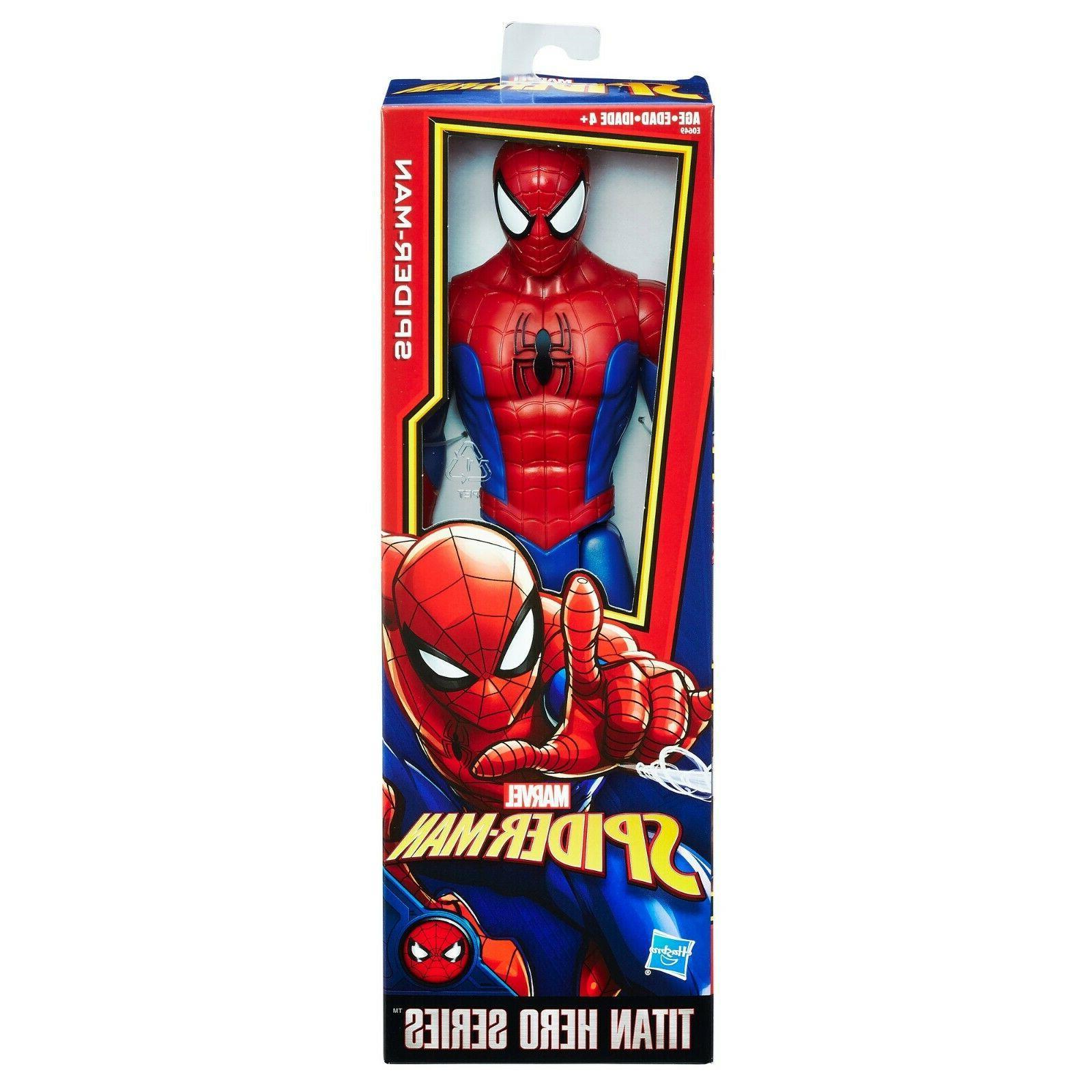 Spider-Man Titan Series Figure with Power