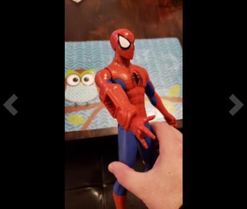 Spider-Man Titan Hero Figure Titan Hero Power Fx Port
