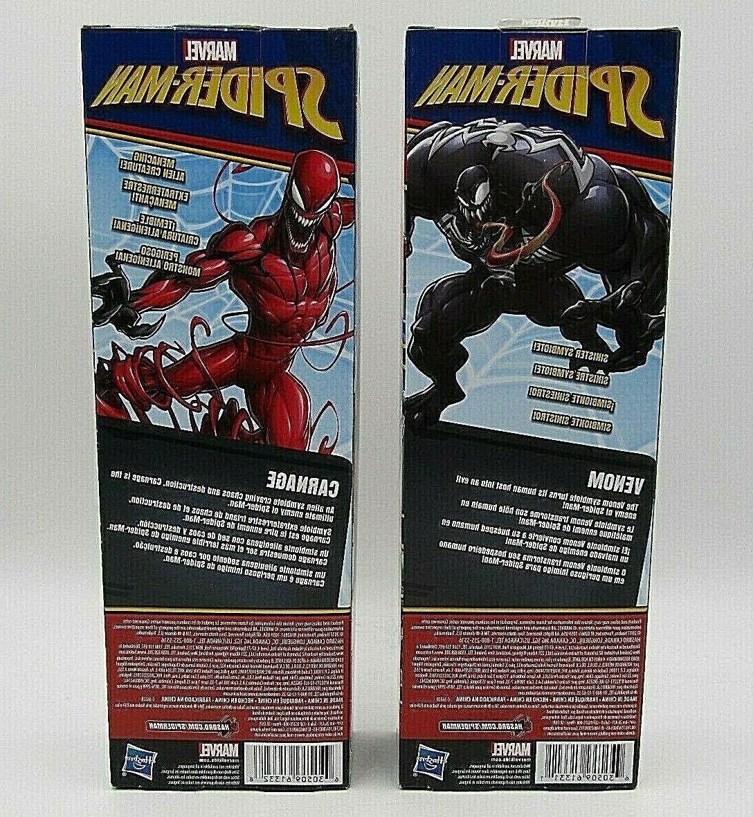 Marvel Spider-Man Titan Series Villains Carnage