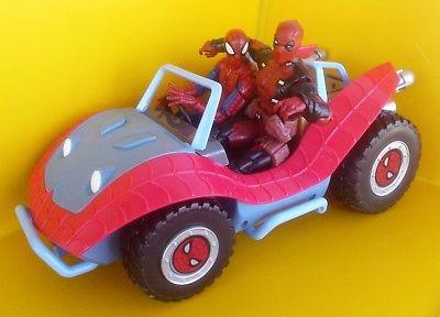 SPIDER-MOBILE Toybox Disney Store Legends Buggy Vehicle