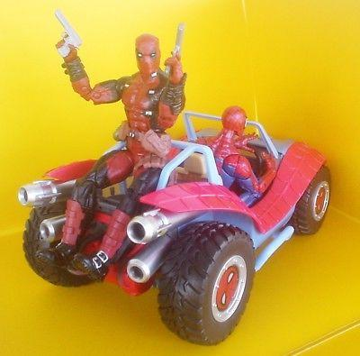 SPIDER-MOBILE Toybox Disney Store Legends Buggy
