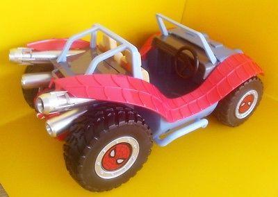 SPIDER-MOBILE & SPIDER-MAN Toybox Buggy Car
