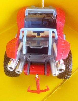 SPIDER-MOBILE & Toybox Store Buggy Car