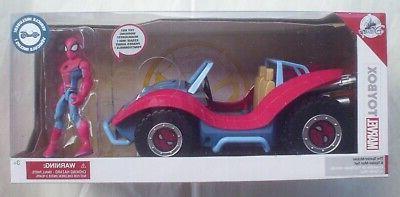 spider mobile and spider man marvel toybox