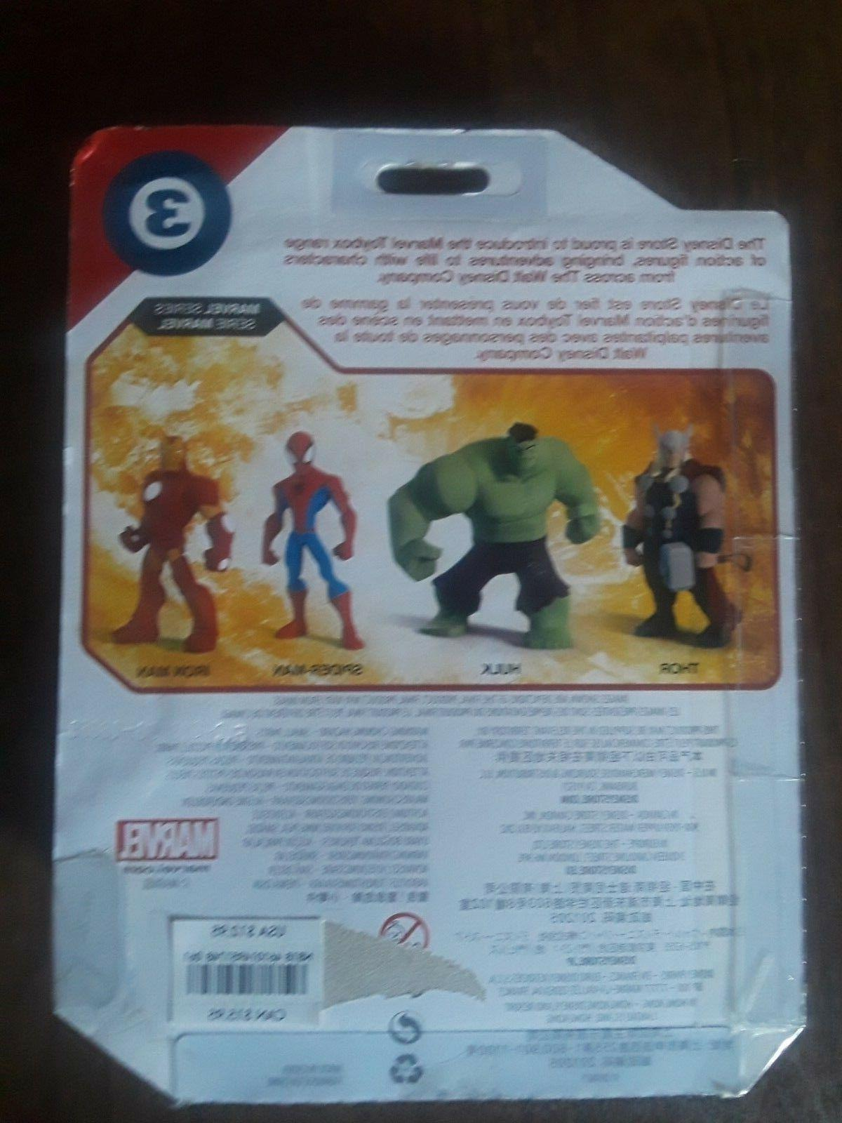 SPIDERMAN MARVEL TOYBOX FIGURE