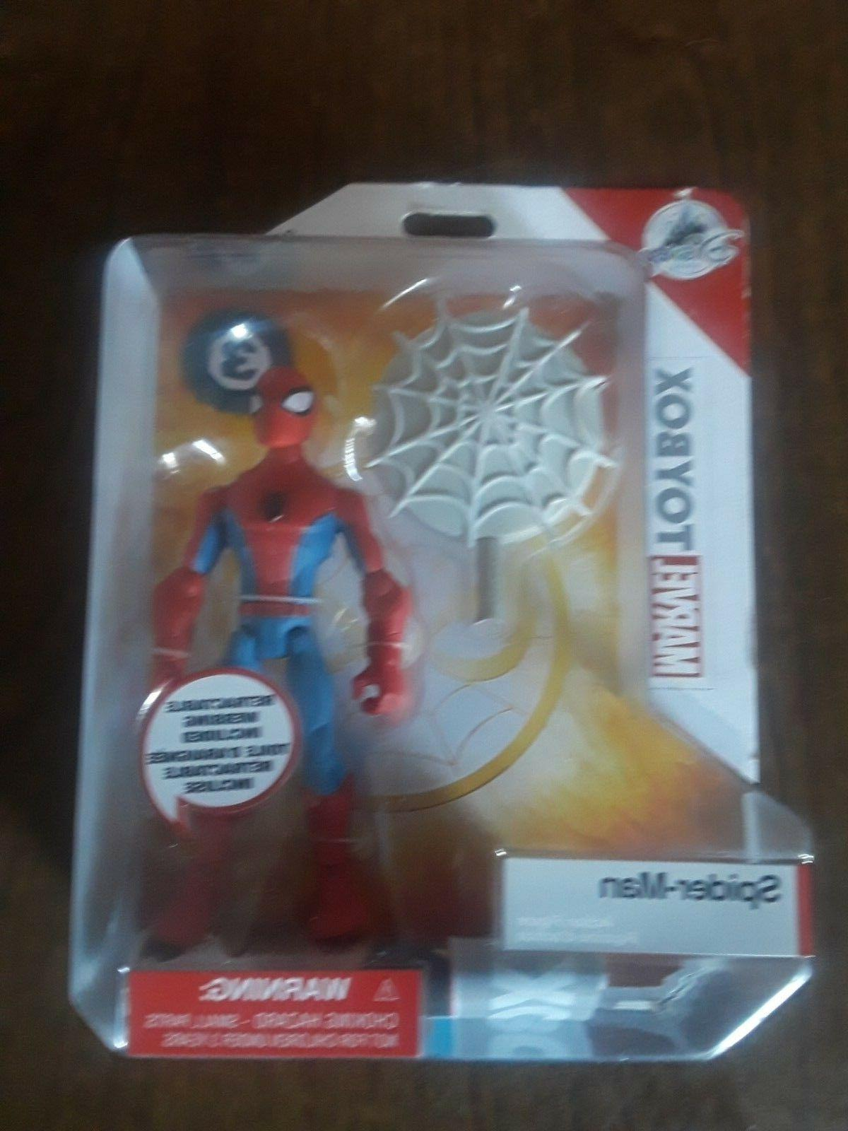 spiderman toybox action figure 3 avengers infinity