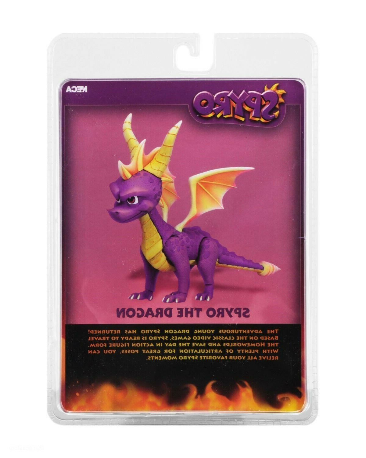 "Spyro The Dragon - 7"" Scale Action Figure - Spyro"