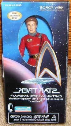 Star Trek Voyager Captain Kathryn Janeway Flashback Action F