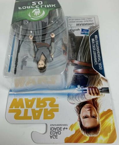 "Star Wars Force Link Rey 3.75"" Action"