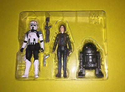 Hasbro Star Wars 3.75 inch Rogue One AT-ACT Driver, Jyn Erso