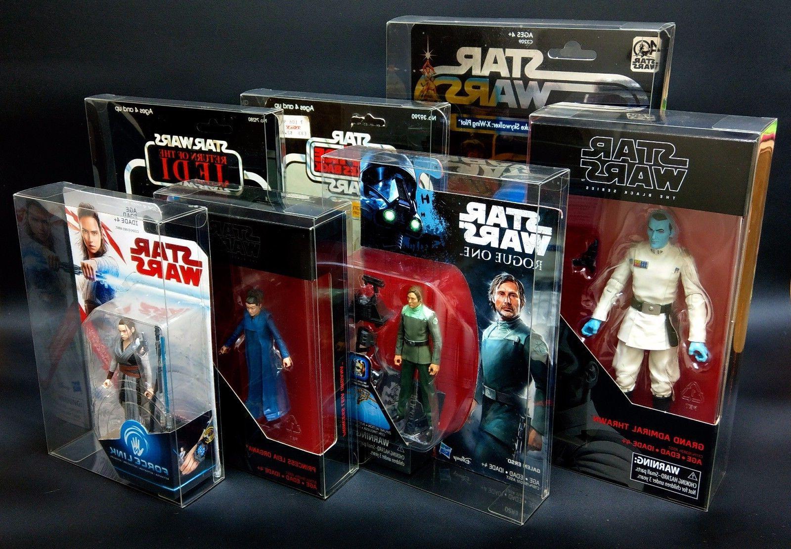 star wars action figure display case moc