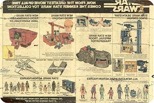 star wars actions figures poster