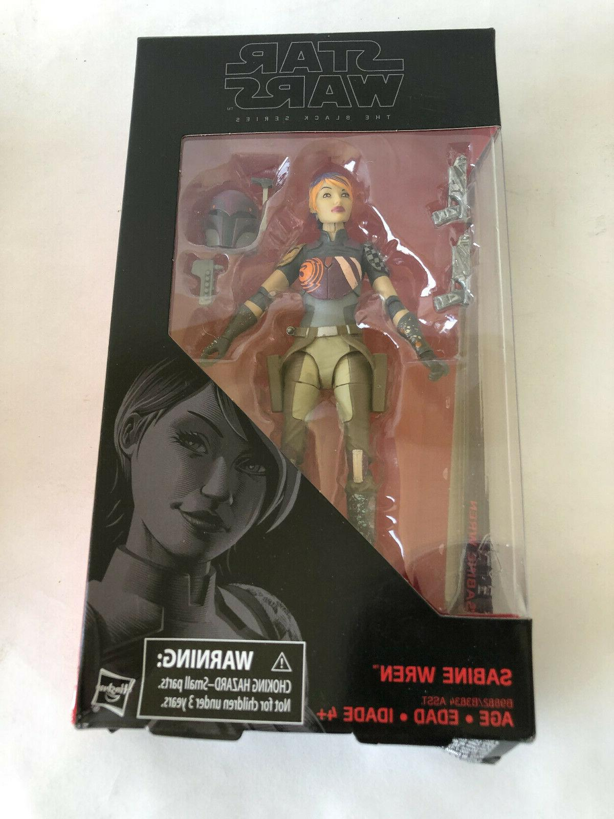 star wars black series 6 sabine wren
