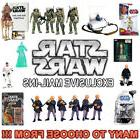 "STAR WARS Exclusive Mail-Ins 3¾"" Action Figures  *MOC, MIB*"
