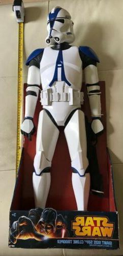 "Star Wars Giant Size 501st Legion Clone Trooper 31"" Figure"