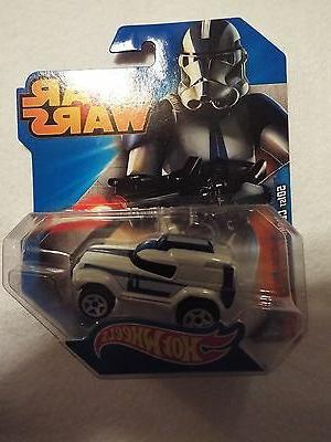 star wars hotwheels 501st clone trooper blue
