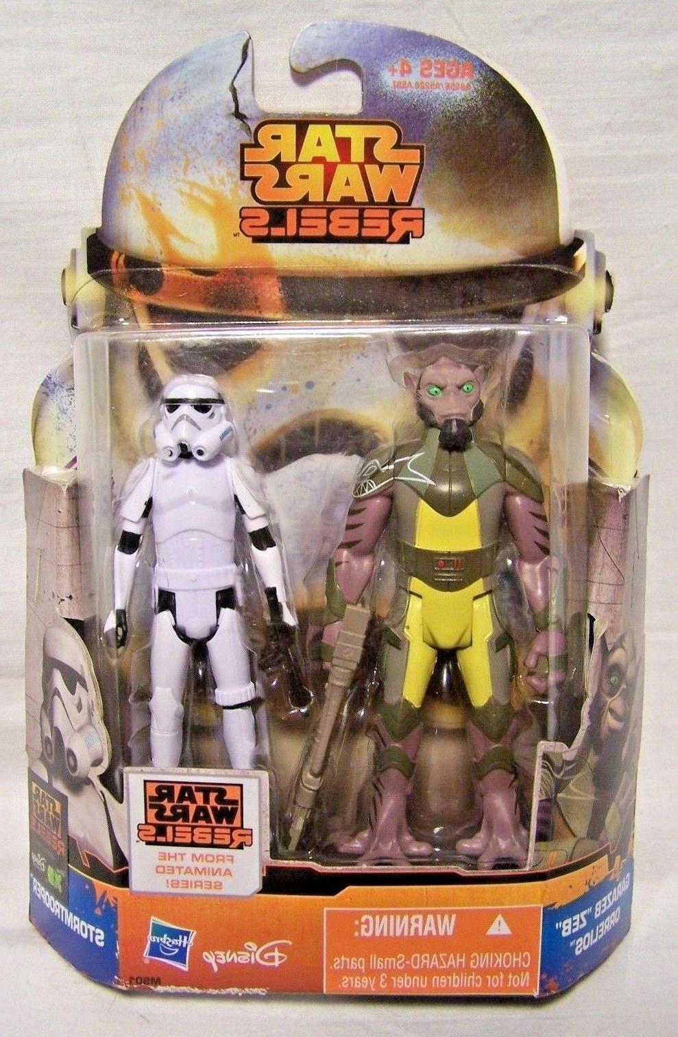 Star Wars Rebels 2 Pack Garazeb 'Zeb' Orrelios & Stormtroope