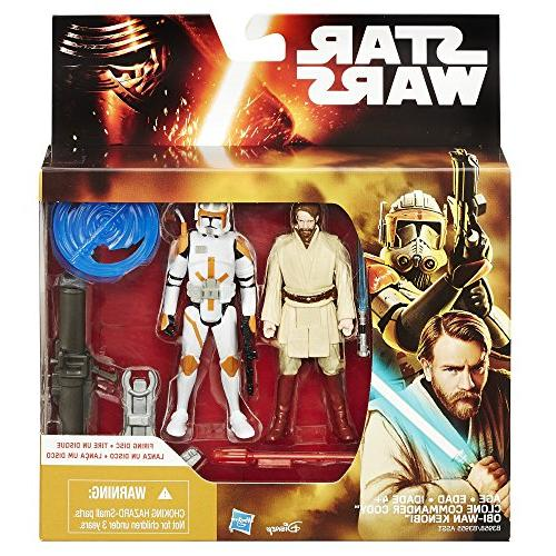 Star the Sith 3.75-Inch 2-Pack Obi-Wan Kenobi and Commander