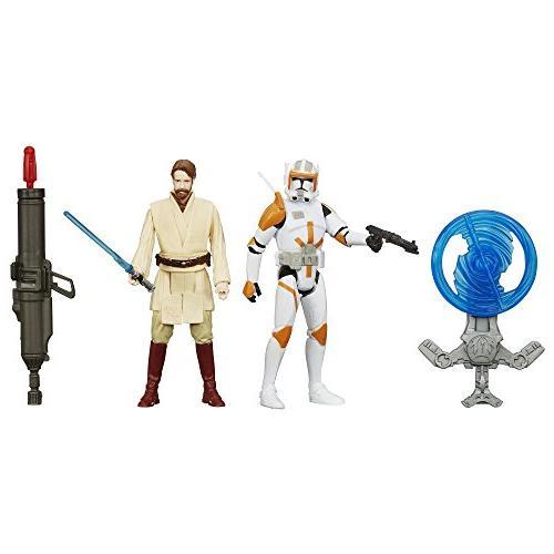 star wars revenge sith 375 inch figure 2 pack desert mission