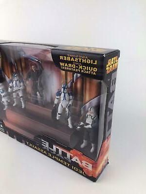 Star Wars ROTS Battle Packs JEDI 501st