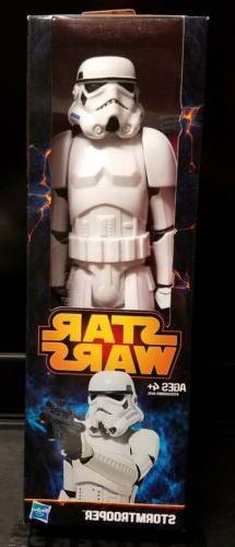 star wars saga stormtrooper 12in action figure