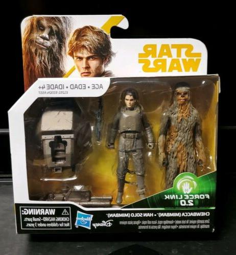 Star Wars Solo 3 3/4-Inch Action Figure - Chewbacca & Han So