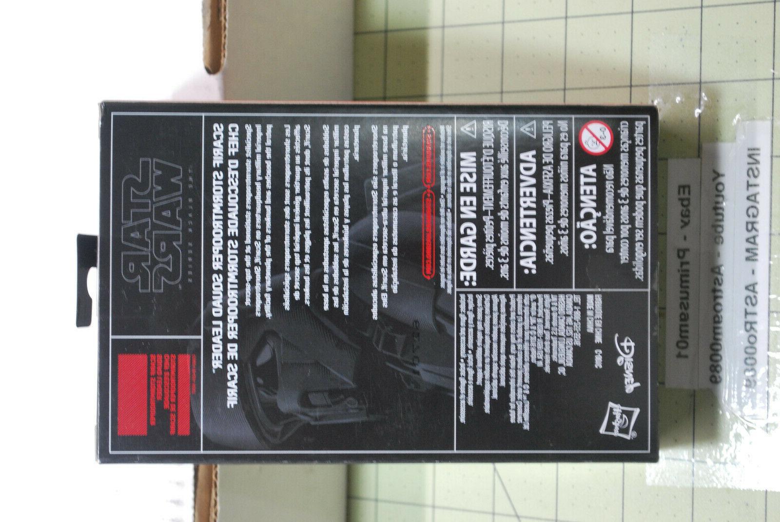 Hasbro Wars Black Scarif Stormtrooper Squad Leader