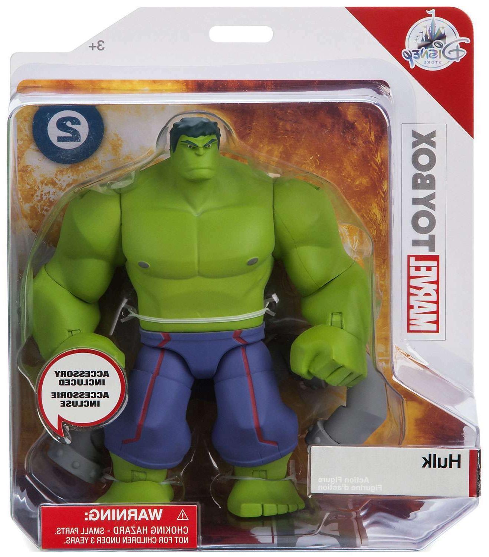 store exclusive hulk marvel toybox 6 action