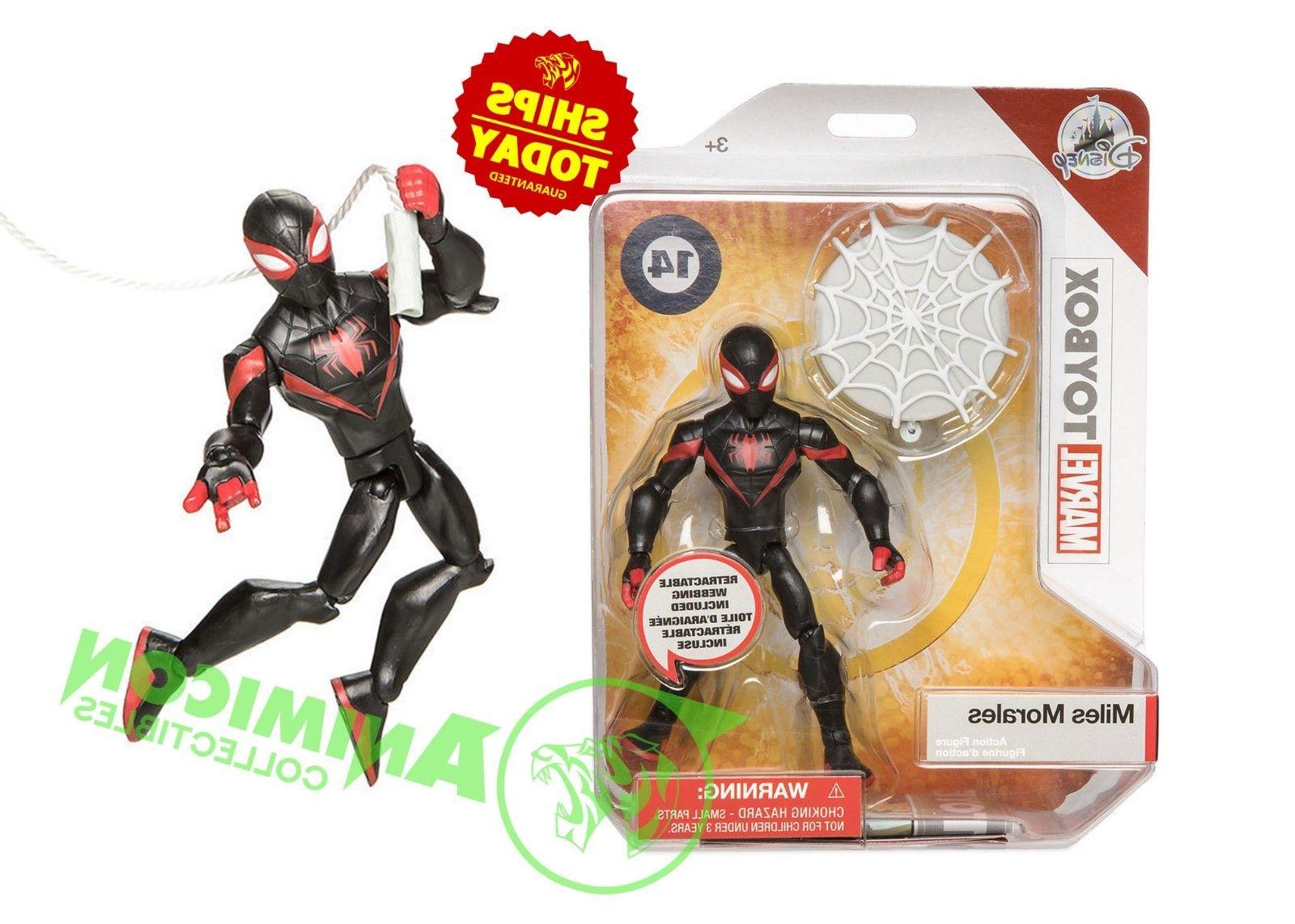 store spiderman miles morales marvel toybox 5