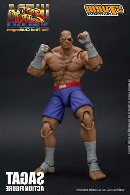 Storm Collectibles Sagat Scale Action
