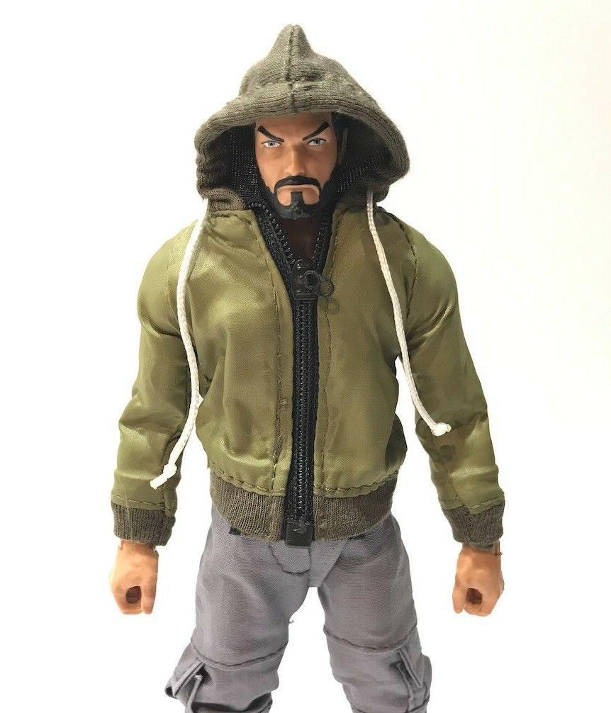 SU-HDJ-GR: Green Hoodie for Mezco, Marvel Legends