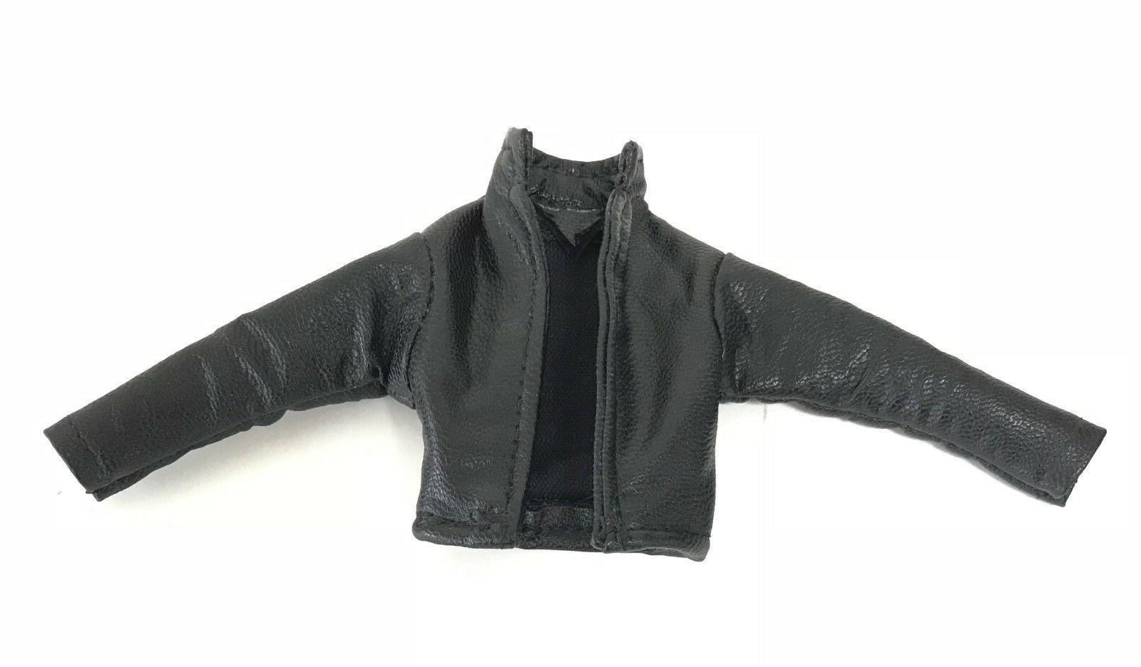SU-JKM1-BK: Black Short Jacket Mezco