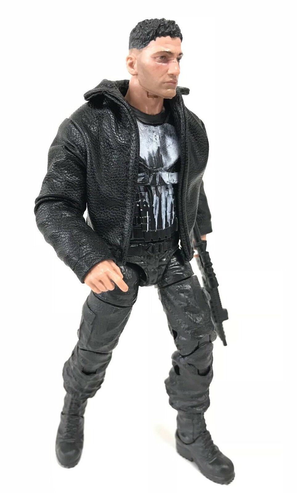 SU-JKM1-BK: Black Jacket for Legends Mezco