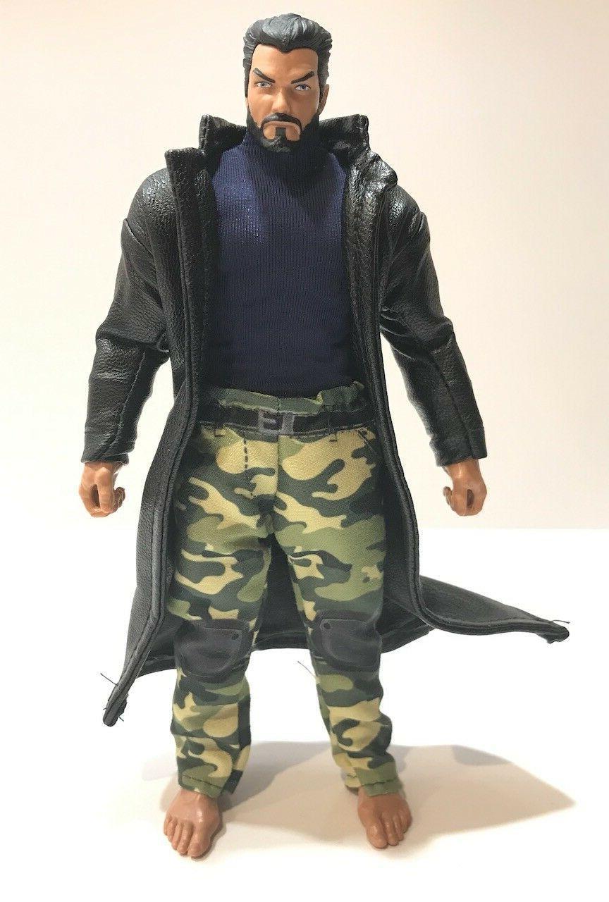 SU-LTC-BK: 1/12 Black Trench Marvel