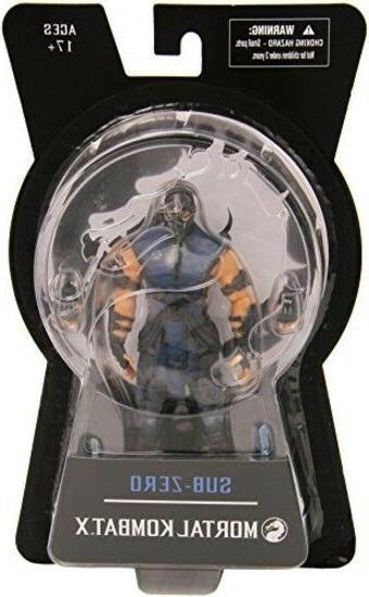 SubZero Figure Collectibles Mortal Kombat X Toys 6-Inch