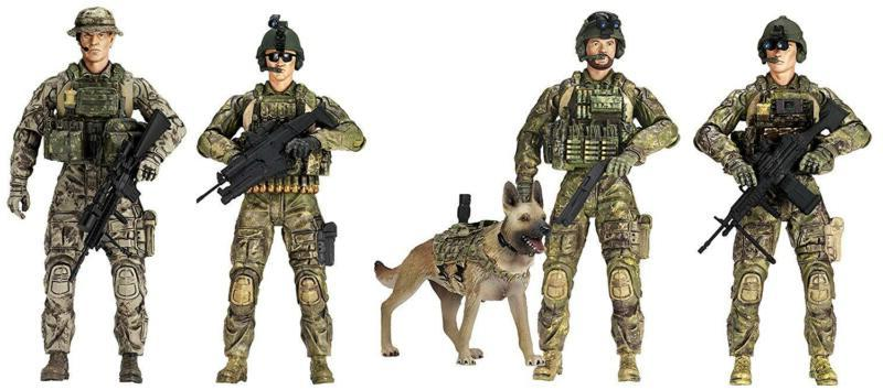 sunny days entertainment army rangers 5 pack