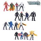 Super Hero Marvel The Avengers 16 PCS Action Figures Iron Ma