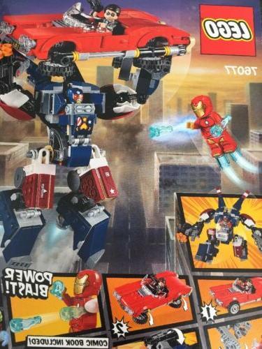 LEGO Man: 76077 Kit Pieces