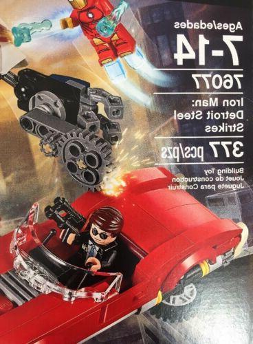 LEGO Super 76077 Building Kit (377