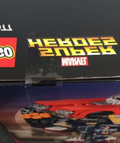 LEGO Man: Detroit Strikes 76077 Building Kit Pieces